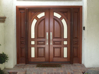 Pintu merupakan komponen utama rumah yang paling penting 70 Model Pintu Ganda untuk Rumah Minimalis - Modern