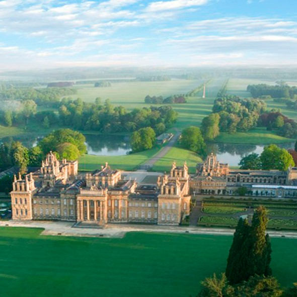 Blenheim Palace is a monumental country house situated in Woodstock