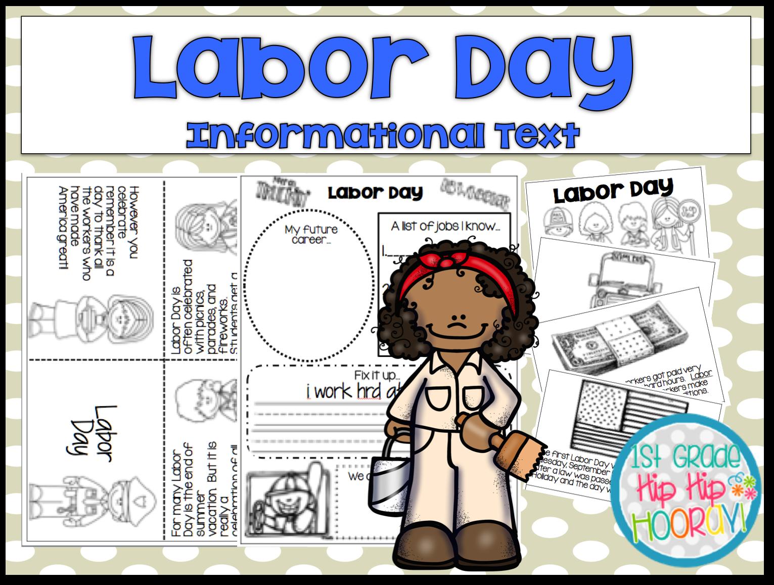 1st Grade Hip Hip Hooray Labor Day