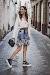 SPORTY CHIC: FALDA DE FLORES+CONVERSE ALL STAR
