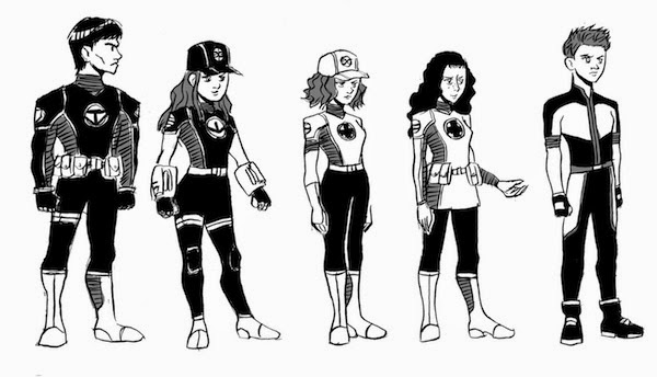 Cameron Lee Comics & Illustration: Character Sketches: The