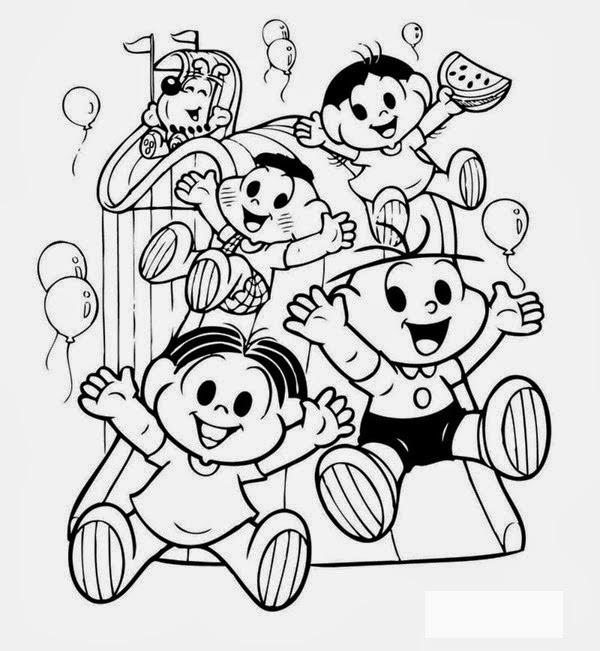 Blog Professor Zezinho Desenhos Dia Das Criancas Para Pintar E