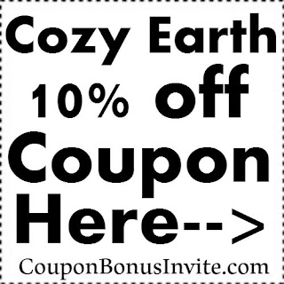 CozyEarth Promo Code, Coupons & Discount Code June, July, August, September, October 2017-2018