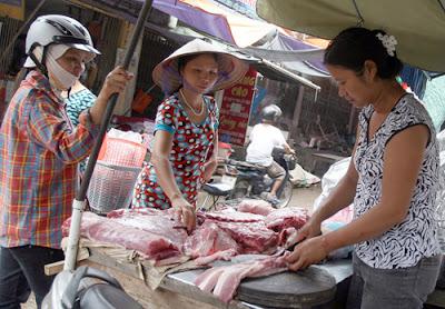 Đang có tình trạng lạm dụng chất cấm để tạo nạc trong chăn nuôi gia súc - Ảnh: Ngọc Thắng