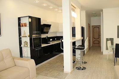 2-комнатный апартамент (вариант 7) отельного комплекса в Семидворье