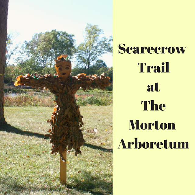 Scarecrow  Trail at The Morton Arboretum