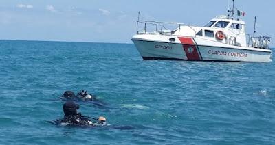 La Guardia Costiera riporta alla luce reperti archeologici nel mare di Marina di Caronia
