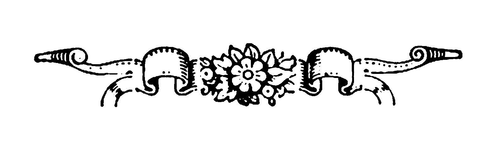 Digital Stamp Design Antique Scroll Digital Border Crafting Designs