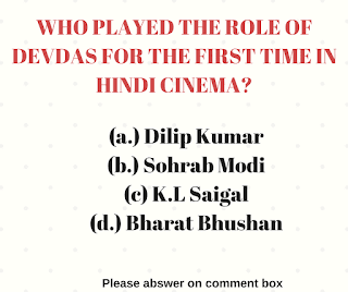 Who played the role of Devdas for the first time in Hindi Cinema?