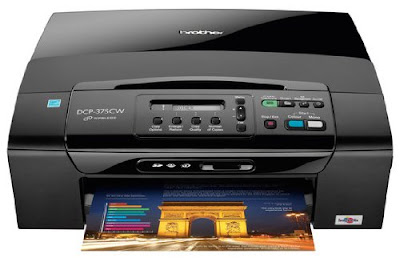 CW Wireless Colour Multifunction Inkjet Printer Brother DCP-375CW Driver Downloads