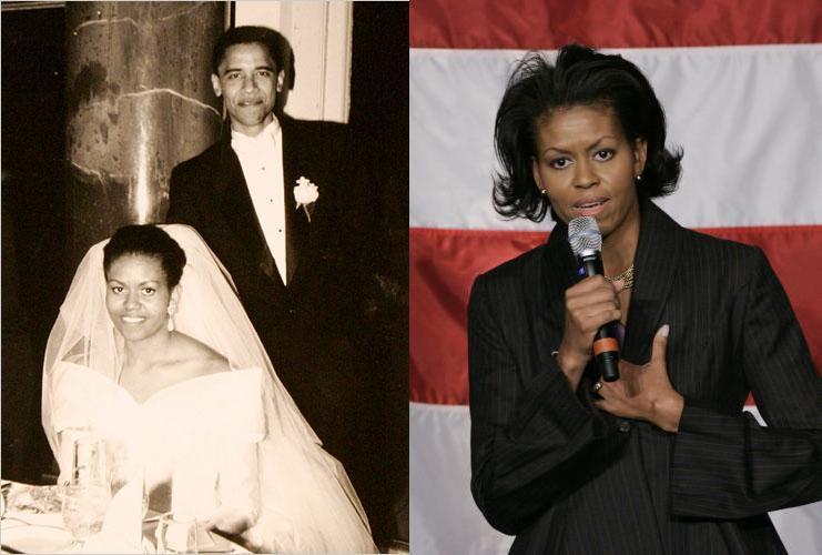 surgery obama facial michele Has had