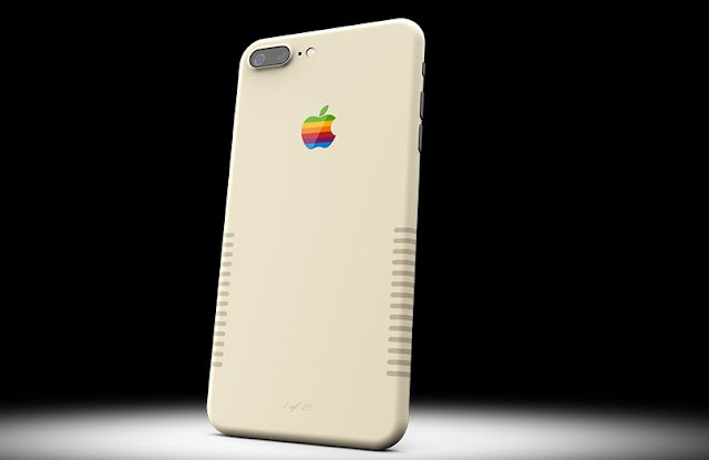 Colorware now announces iPhone 7 Plus Retro Edition which brings Vintage look like Original 1980's Mac which cost around $1899