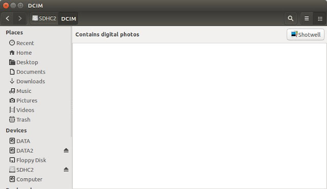 Recovery Foto di Ubuntu Dengan recoverjpeg