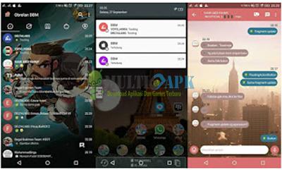 Aplikasi BBM Mod Delta Update Terbaru Versi 3.7.0 Base Versi 3.0.1.25 APK For Android