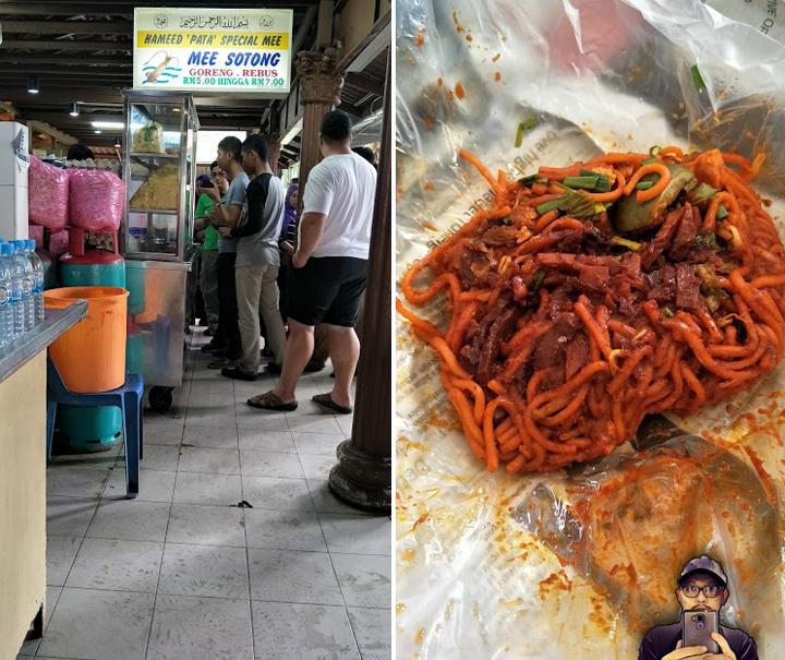 Mee Sotong Istimewa di Padang Kota Lama, Pulau Pinang