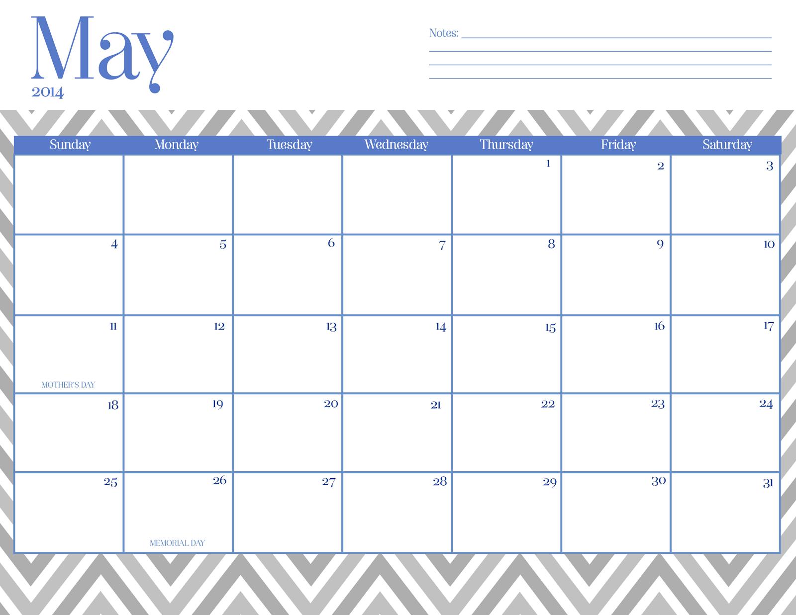 May Calendar Cute : Cute may calendar chevron imgkid the