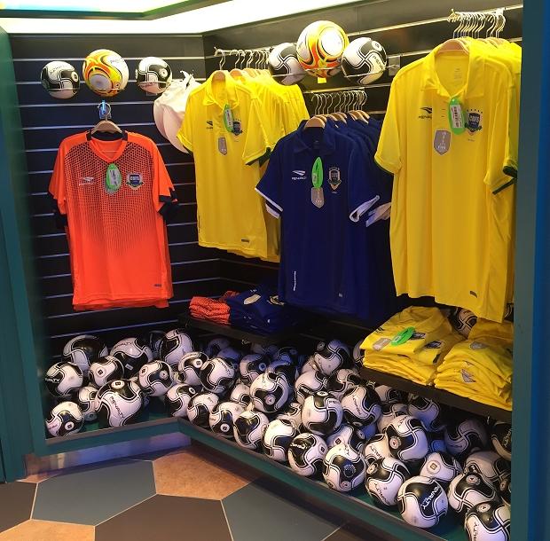Aeroportos ganham loja da Seleção Brasileira de futsal - Show de Camisas 69d52ce808f0a