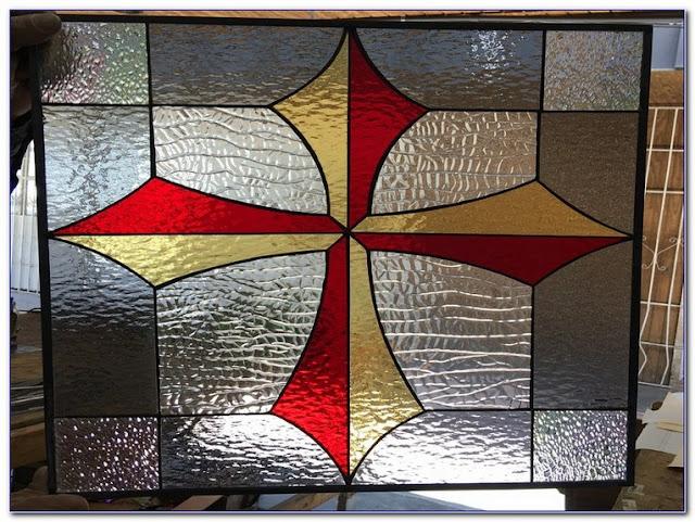 Stick On Stained GLASS WINDOW Film Australia