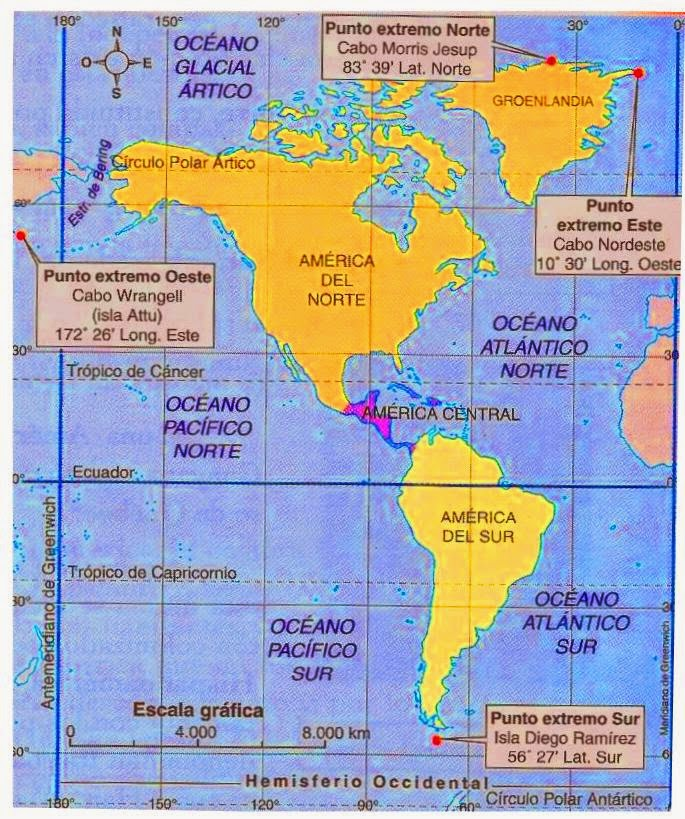 Geografia Mundial America Latina Y Anglosajona