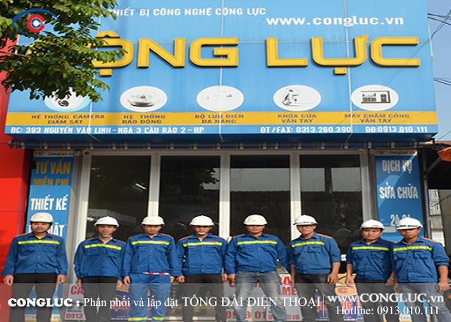Công ty lắp tổng đài điện thoại trường Đại Học uy tín nhất Hải Phòng