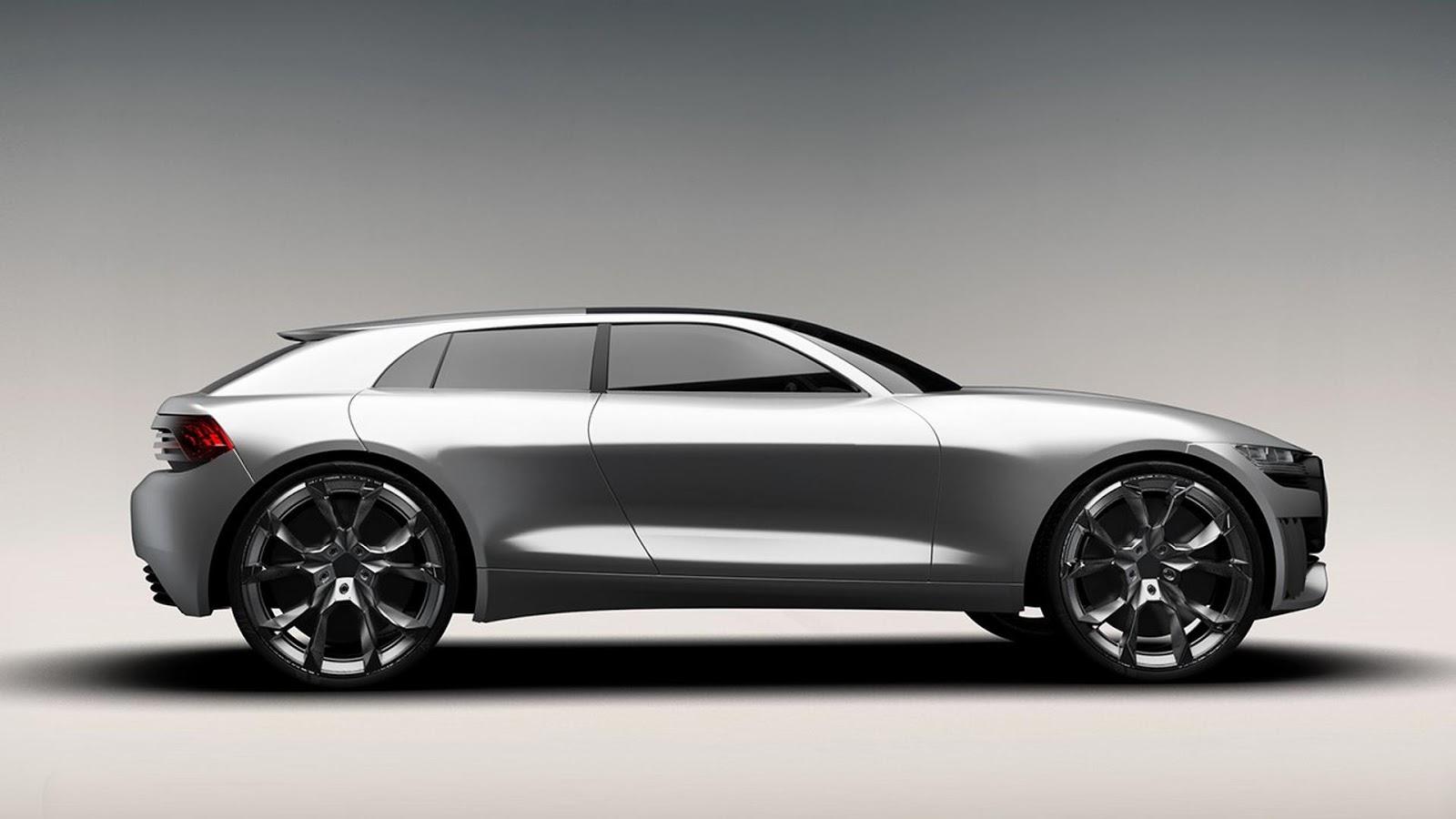 Audi Q4 Design Study Offers A Taste Of 2019 Model Carscoops