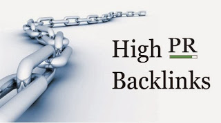 high PR backlinks