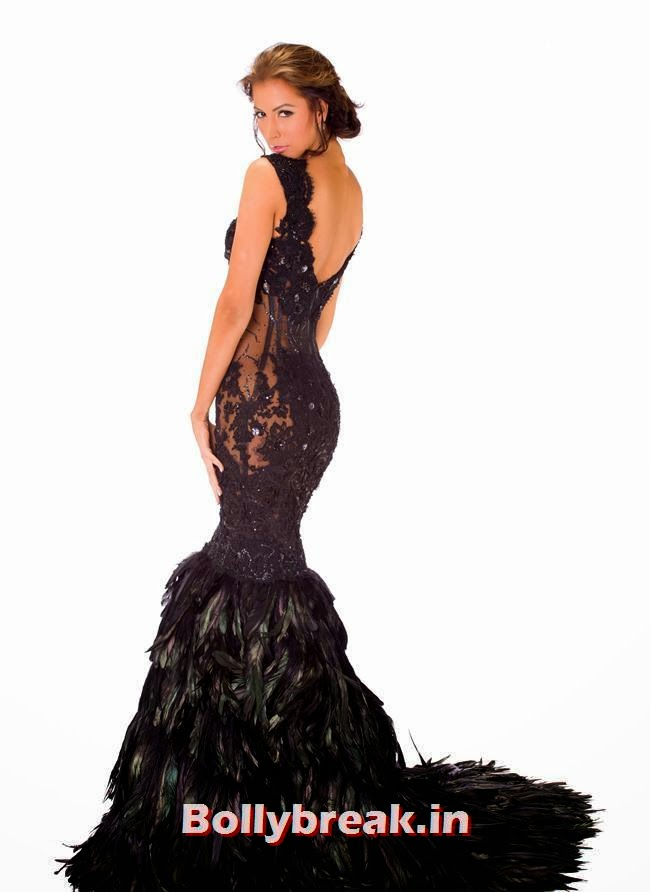 Miss Jamaica, Miss Universe 2013 Evening Gowns Pics