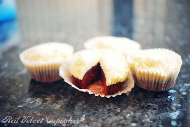 Red Velvet Cupcakes Cream Cheese Icing Chocolate Recipe