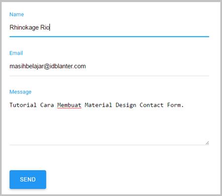 Cara Membuat Contact Form Keren Di Blog Agar Diterima Adsense