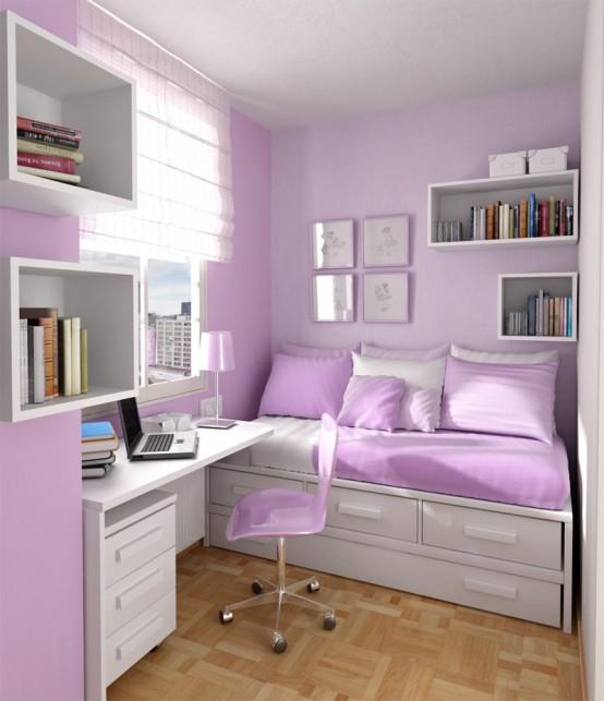 Teenage Bedroom Ideas For Girl:Dorm Room Ideas, College ... on Girls Bedroom Ideas For Small Rooms  id=23525