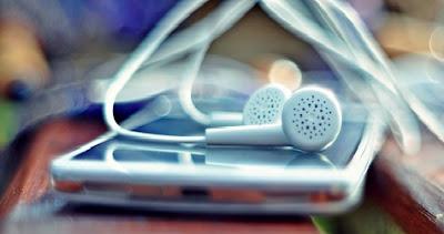 Móvil para escuchar música