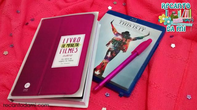 Livro de marcar filmes Increasy Editora Verus