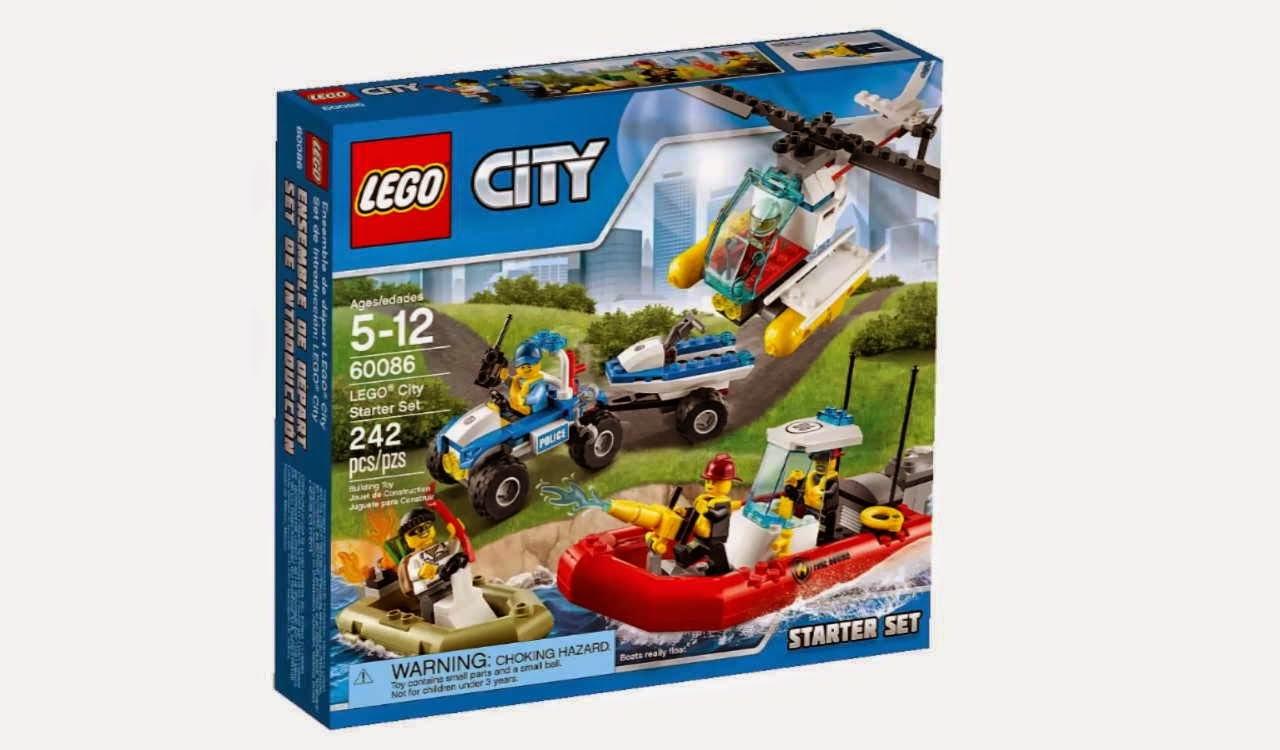 Detoyz Shop 2015 Lego City Lego 60086 City Starter Set