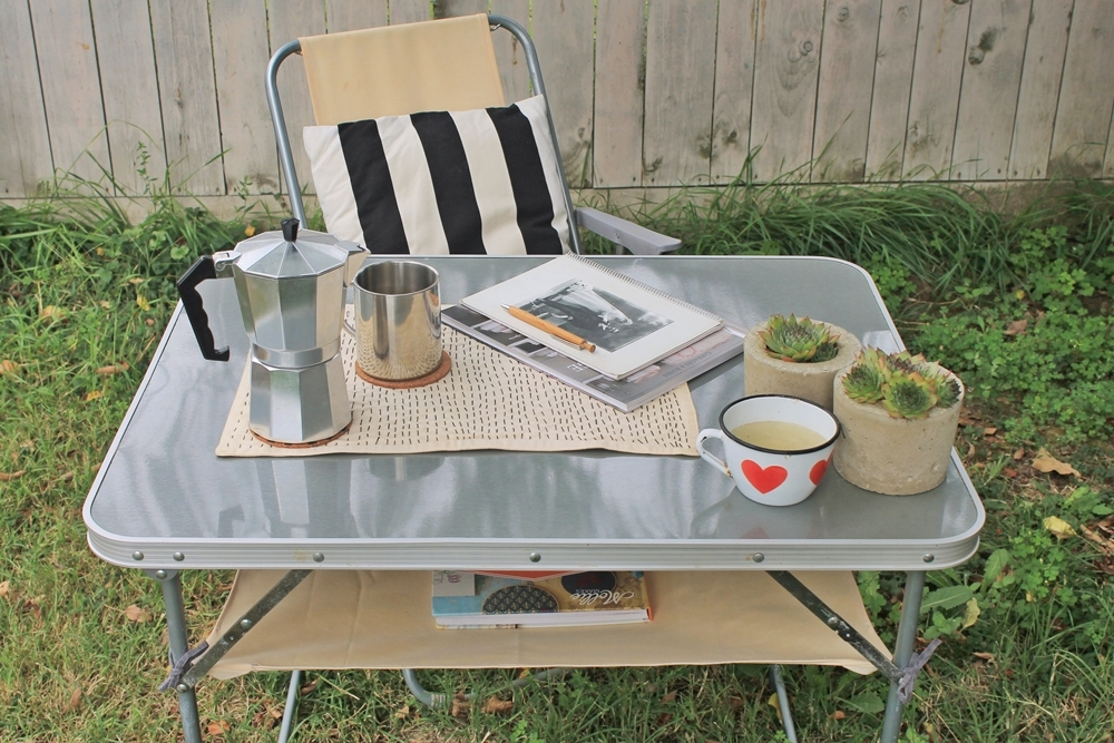 camping table hack diy