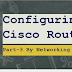 Cisco Router Basic Configuration: