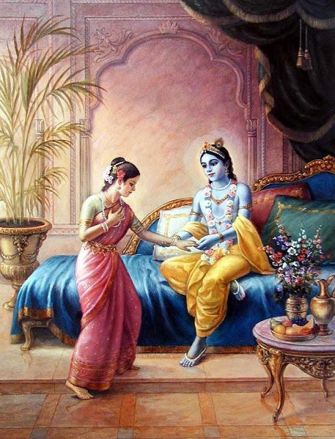 nagnajiti Krishna's wife