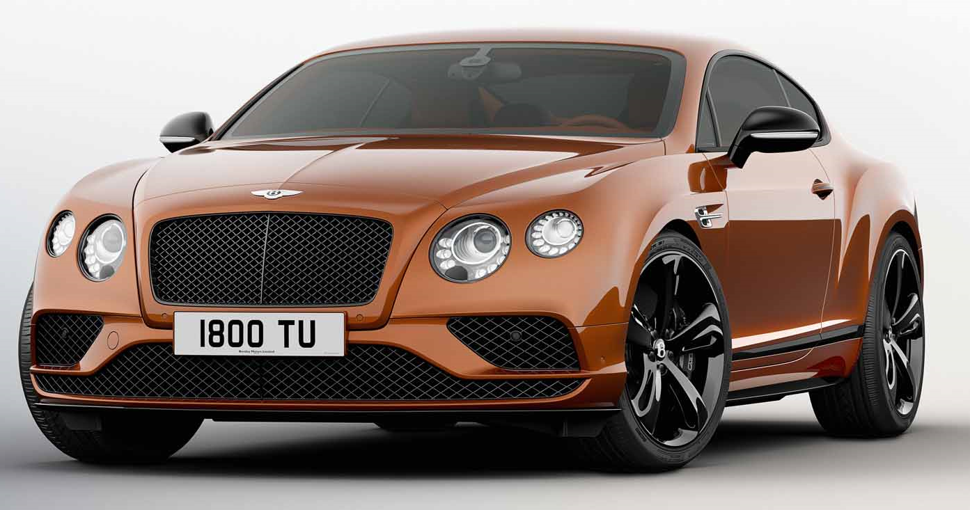 SuperCarWorld: 2017 Bentley Continental GT SuperSports