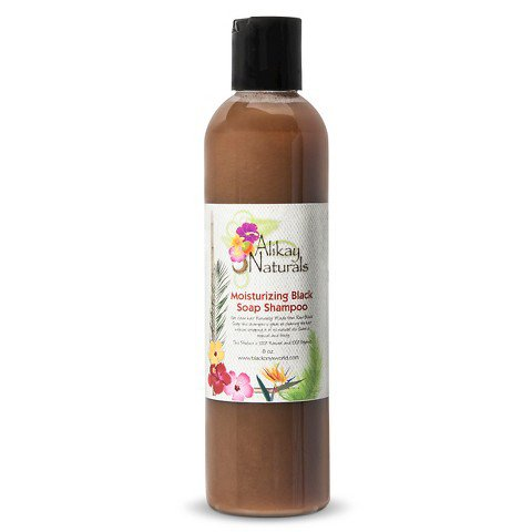 Alikay Naturals' Moisturizing Black Soap Shampoo