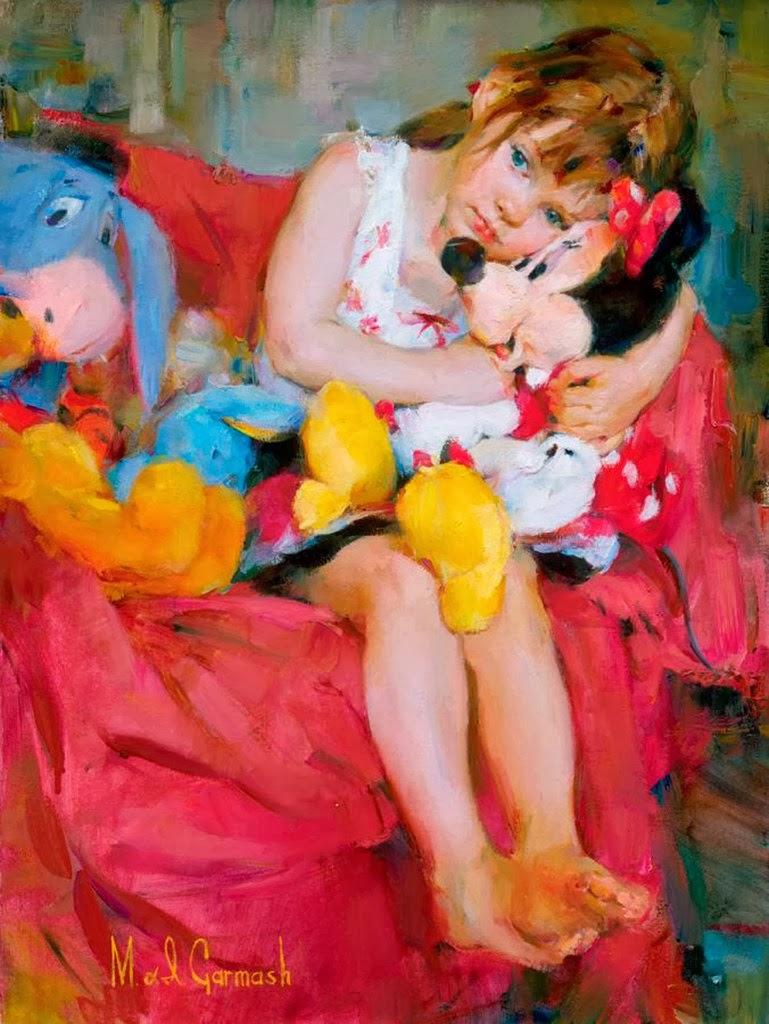 Michael Garmash - Criança