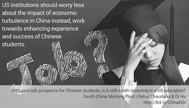 investing in career and job success will help Chinese student recruitment