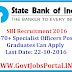SBI Recruitment 2016 for Specialist Officers Posts Apply Online Here