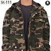 fashion cowok fashioncowok Jaket Army Parka SK111