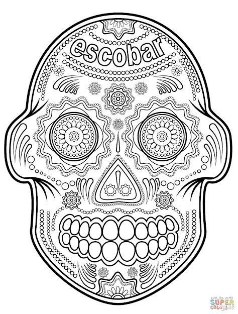 Escobar Sugar Skull