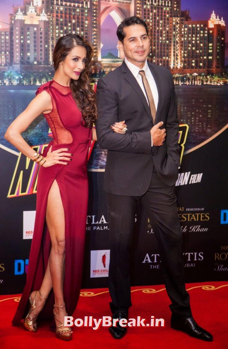 Malaika Arora Khan and Dino Morea, Happy new Year Dubai Premiere Photos