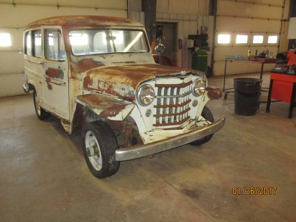 Barn Find 1951 Willys 4x4 Station Wagon