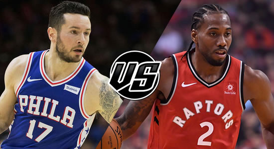 Live Streaming List: Philadelphia 76ers vs Toronto Raptors 2018-2019 NBA Season