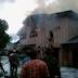 Fire guts the Ikeja residence of retired Army General, Oladipo Diya