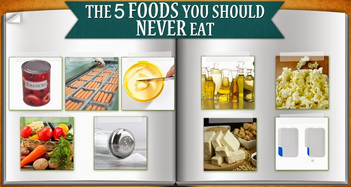 Top Five Things Never to Eat : wikihealthblog