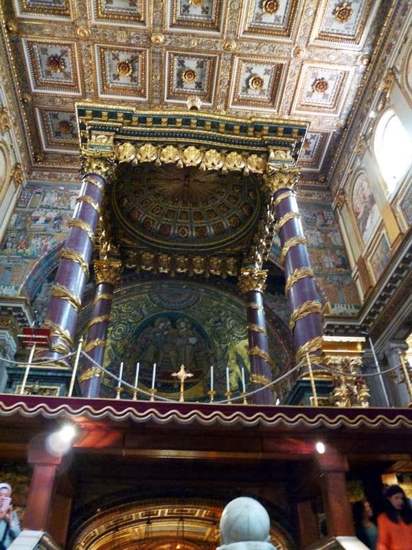 Baldaquino da Basílica de Santa Maria Maior