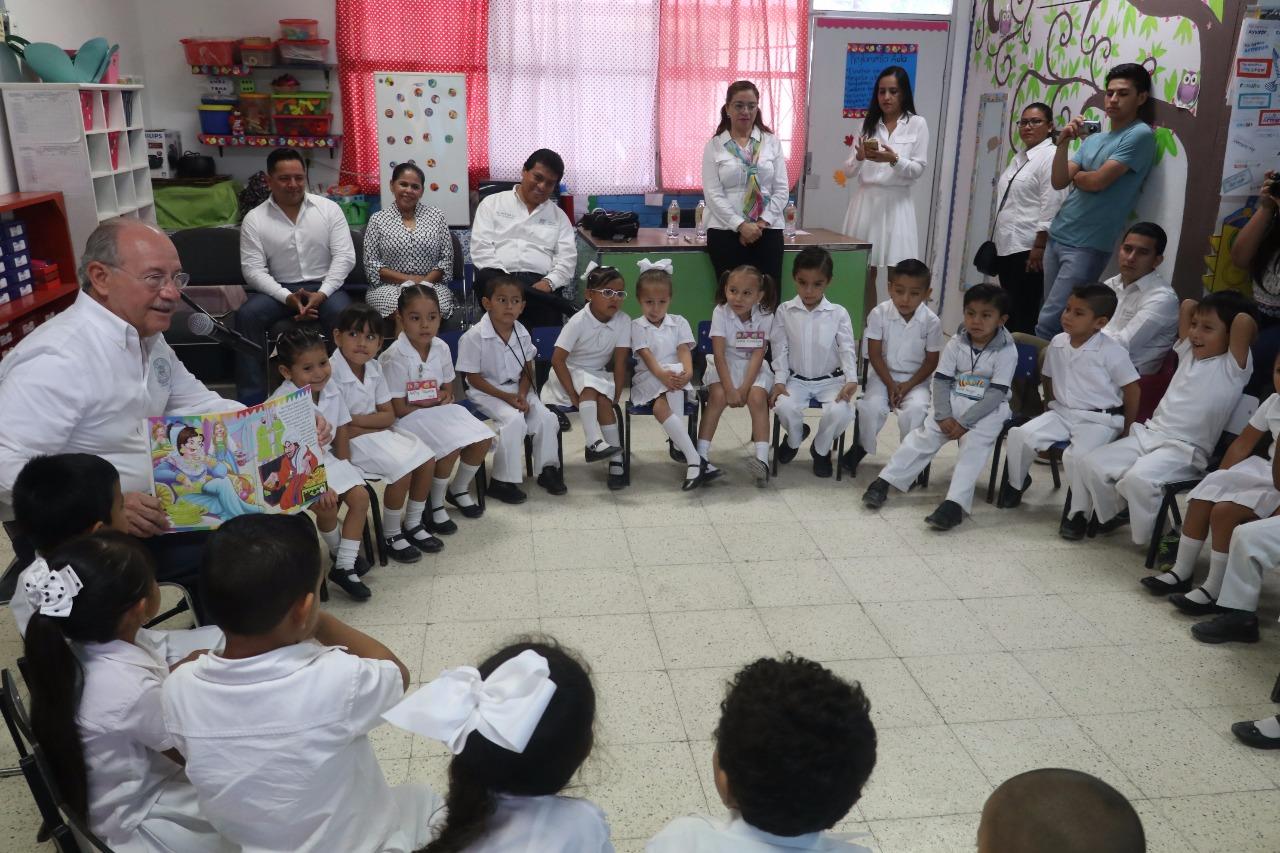 """Reanuda Municipio programa """"Círculos de Lectura"""" en el jardín de ..."""